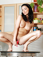 Nubile Fiva loves the doggy style pounding she is receiving