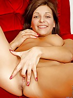 Horny Nubile likes to have her tender nipples sucked on