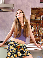 Erotic teen olla gets turned on and is ready to have fun
