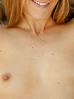 Kara is a fiery hot cock tease who spreads her juicy pink pussy for the nubile crew.