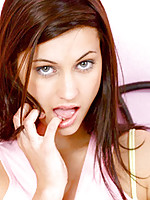 Sweet and sassy nubile georgia is lonely in her bedroom.