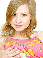 Cute teen robin is getting naked before she hops in the shower you know to get clean