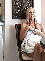 Nubile sweetheart kristina likes to play with her tight juicy pussy.