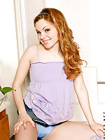 Alana gets ready to have a little fun for her viewers
