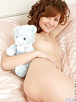 Teen nubile hotie vika pulls her shirt off and gets into the shower while we watch
