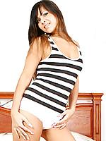 Dangerdoll playfully shows off her sensual teen curves