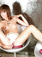 Petite brunette nubile takes some time to appreciate her reflection
